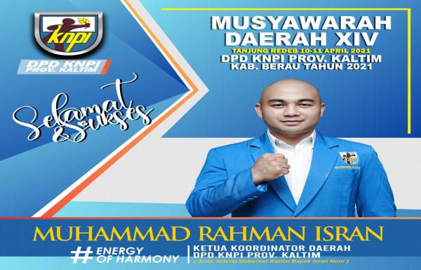 Musyawarah Daerah XIV DPD KNPI Kabupaten Berau, Tanjung Redeb, 10-11 April 2021