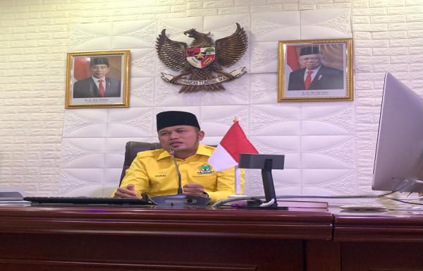 Halal Bihalal Secara Virtual, H. Rudy Mas'ud Perintahkan Kader untuk Menebar Manfaat pada Masyarakat Kaltim