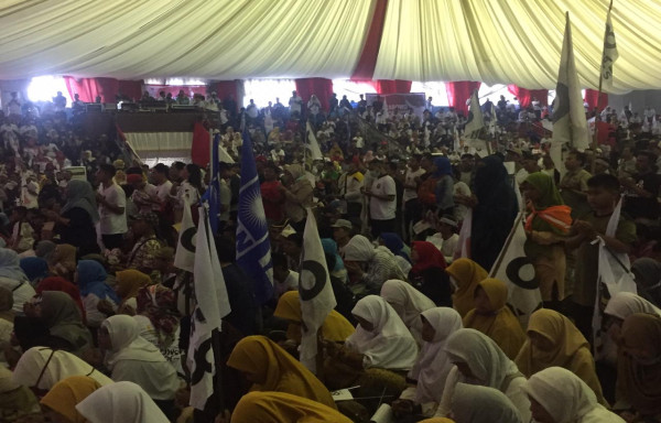 Kampanye di Ribuan Titik, Massa Membludak, dan Kesuksesan di Panggung Debat, Apakah Pertanda Kemenangan Prabowo Sandi?
