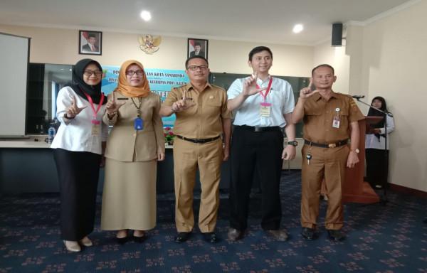 Kepala Perpustakaan Kota Samarinda Akhmad Hidayat: Pustakawan sekolah harus memiliki jiwa pustaka yang handal dan profesional